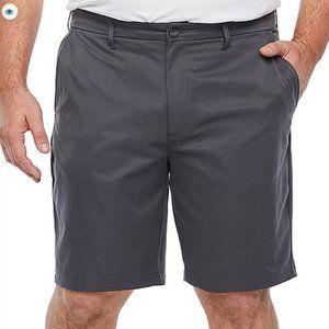 "Foundry Men's Stretch 10"" Chino Short Iron Gray 44"